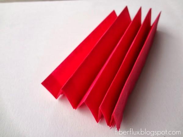 Flores con papel de seda 4