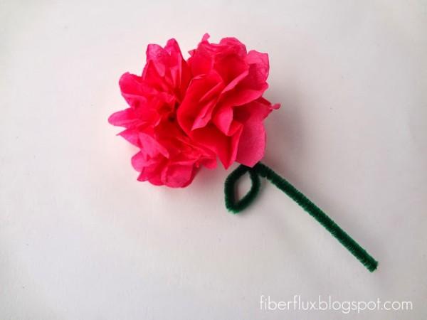 Aprende A Hacer Flores Con Papel De Seda Guia De Manualidades - Hacer-flores-con-papel