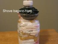 imagen Dispensador y organizador de bolsas de plástico