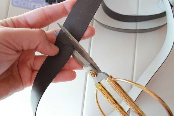 Organizador De Baño Manualidades: de bricolaje casero) Recipiente para los utensilios de aseo