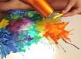 imagen Nueva técnica para pintar con crayones