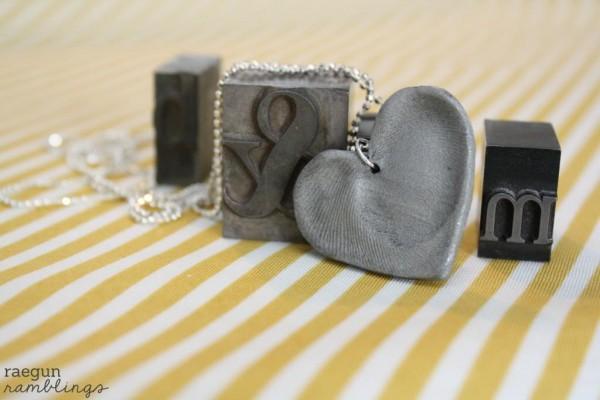 Corazón con porcelana fría 1
