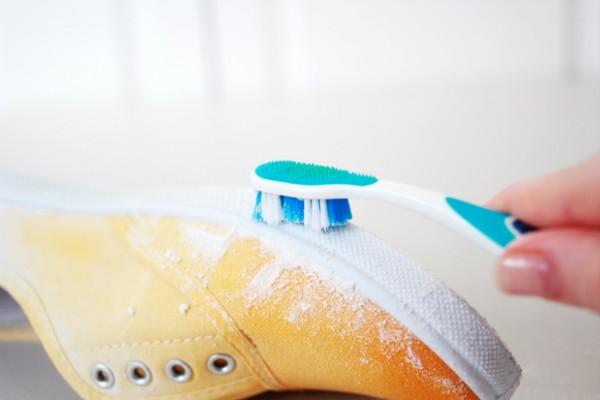 Zapatillas teñidas en degradé 7
