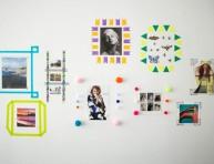 imagen 4 originales formas de enmarcar imágenes en la pared
