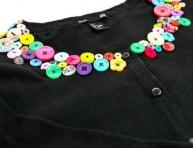 imagen Abrigo con cuello de botones