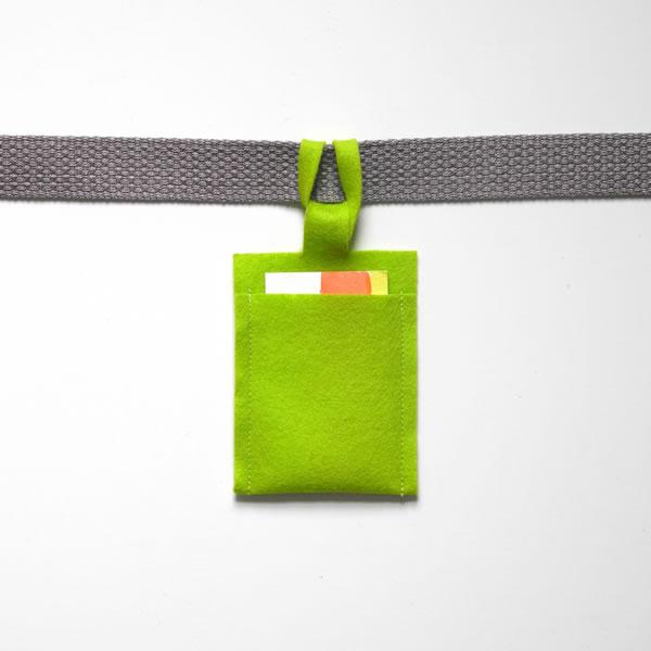 Identificador de equipaje con fieltro 8