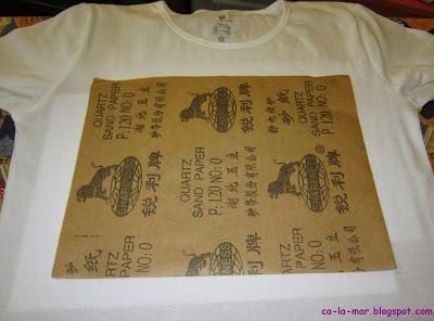 Camisetas personalizadas con crayones 4