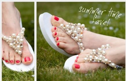 Sandalias decoradas 1