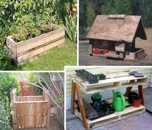 Propuestas para reciclar palets gu a de manualidades for Ideas con palets para jardin