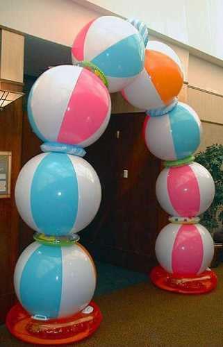 Arco decorativo con globos 1
