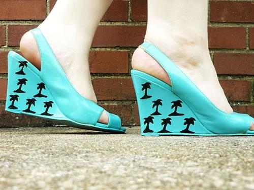 Estampa las plataformas de zapatos 1