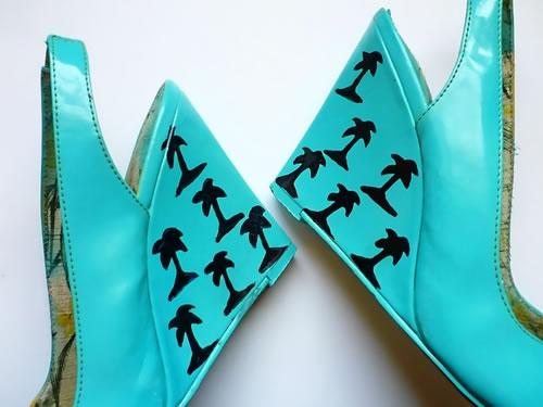 Estampa las plataformas de zapatos 5