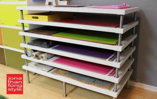 Una estanter a para planos paso a paso gu a de manualidades for Como disenar una estanteria