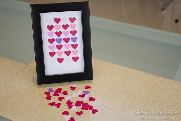 Cuadro de corazones 1