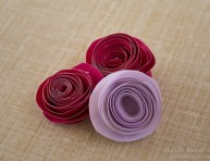 imagen Fáciles rosas de papel