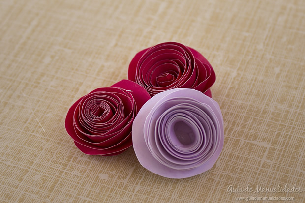 Rosa de papel 12