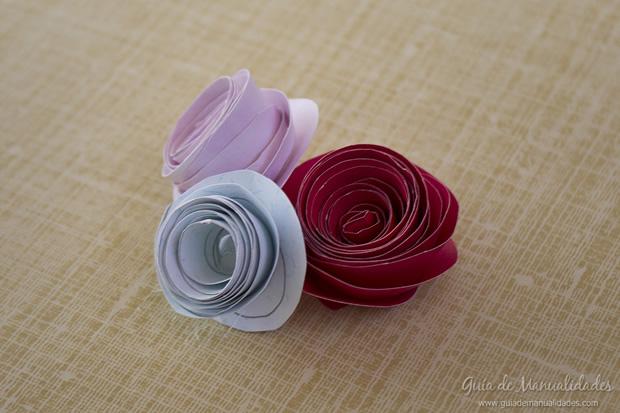 Rosa de papel 13
