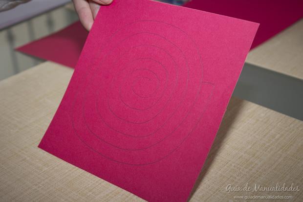 Rosa de papel 2