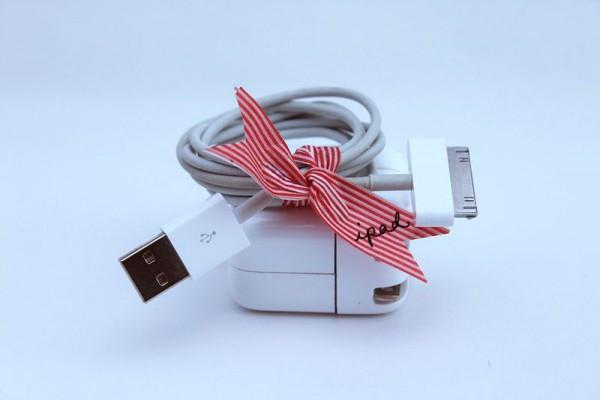 Sujetacables con cinta washi 4