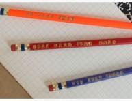 imagen Lápices con frases estampadas