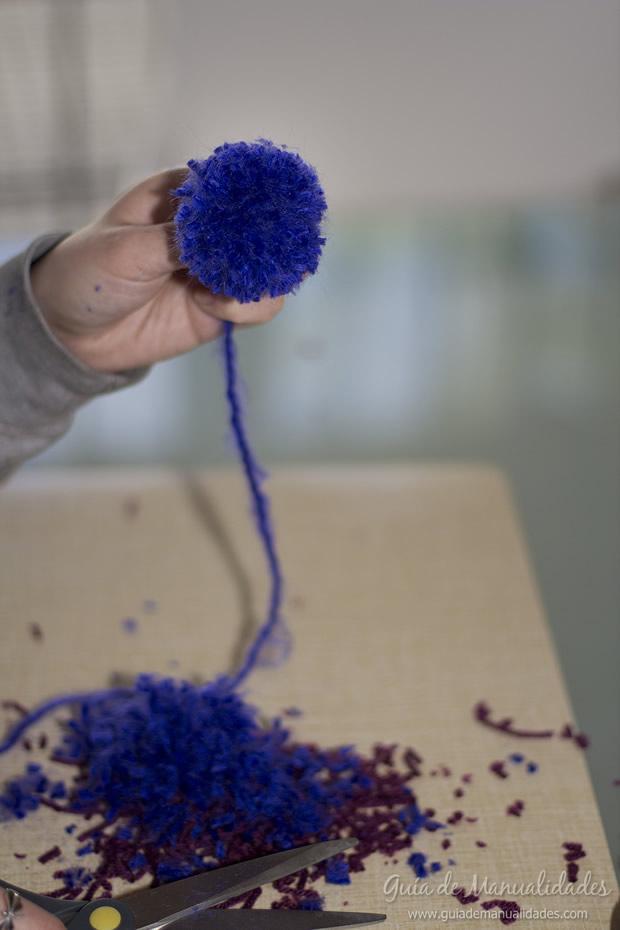Pompones de lana 11