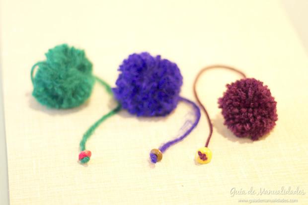 Pompones de lana 13