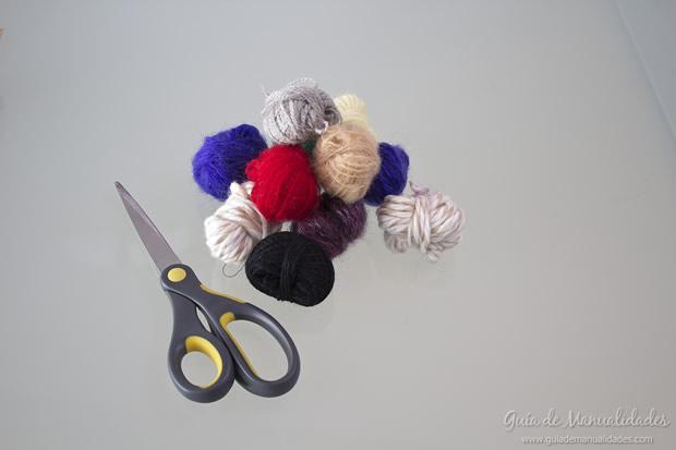 Pompones de lana 2