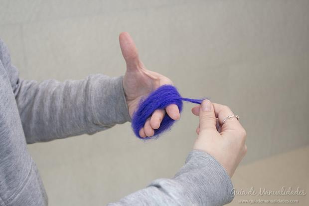 Pompones de lana 3