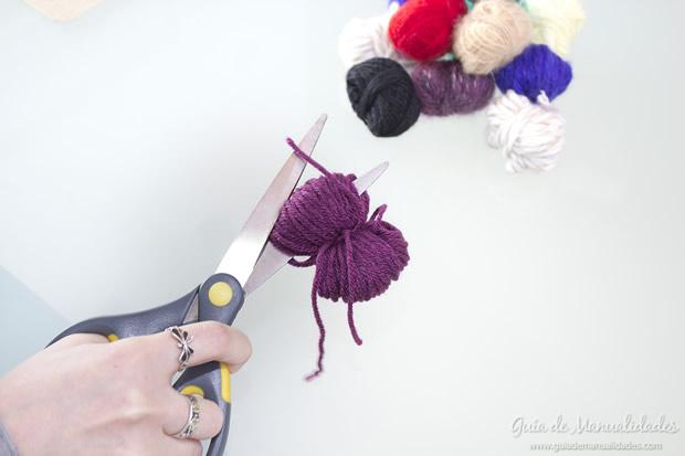 Pompones de lana 6