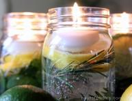 imagen Preparar velas flotantes aromatizadas