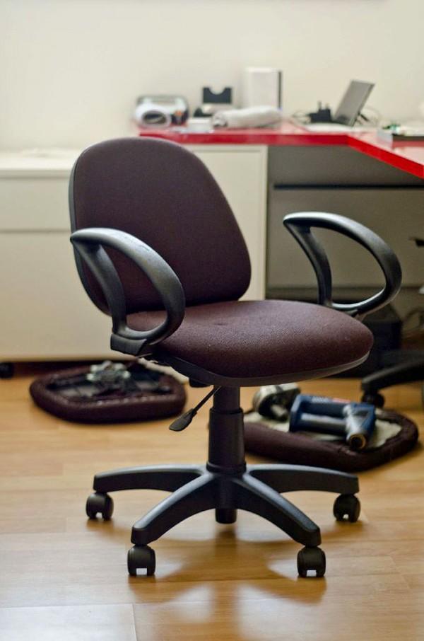 Retapizar una silla de escritorio 1