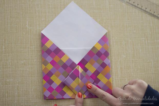 Sobre de origami 14