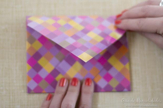 Sobre de origami 16