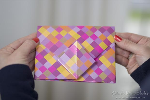 Sobre de origami 17