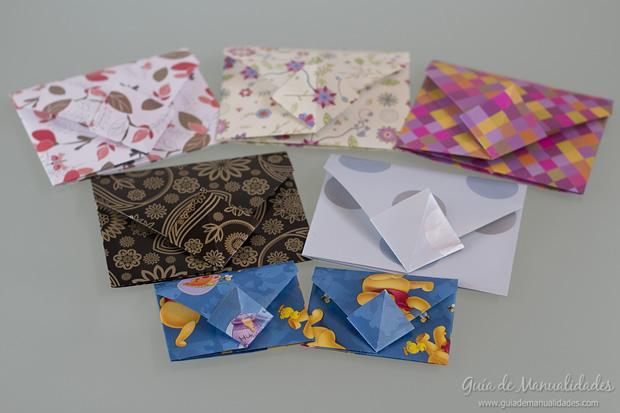Sobre de origami 18