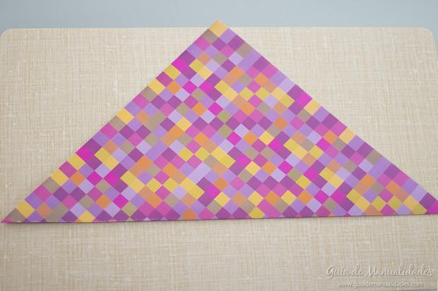 Sobre de origami 3
