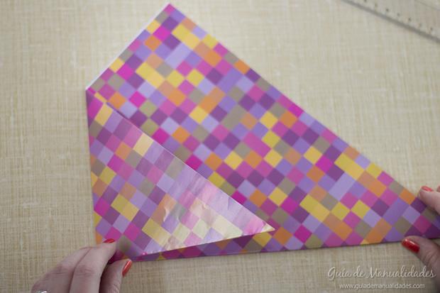 Sobre de origami 6