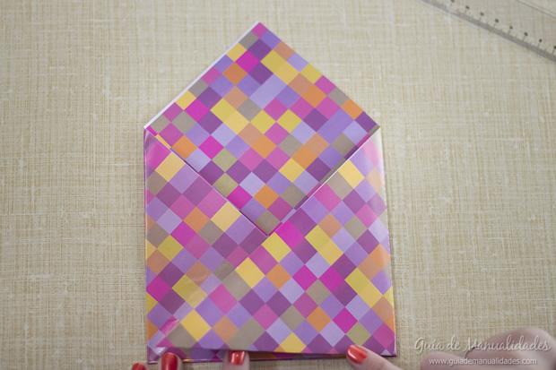 Sobre de origami 7