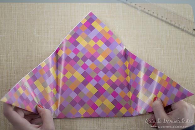 Sobre de origami 8
