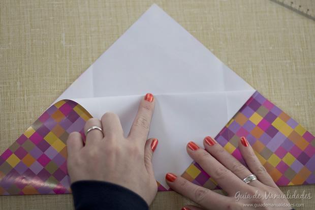 Sobre de origami 9