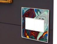 imagen Efecto marmolado para decorar los interruptores de la luz