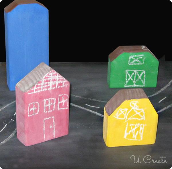 Haz estas casitas de madera para los peques gu a de - Como hacer casitas de madera para ninos ...
