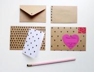 imagen Cómo convertir un lápiz con goma en sello para estampar