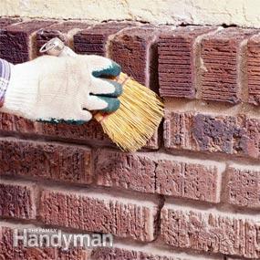Reparar las juntas de ladrillos 4