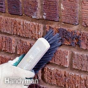 Reparar las juntas de ladrillos 8