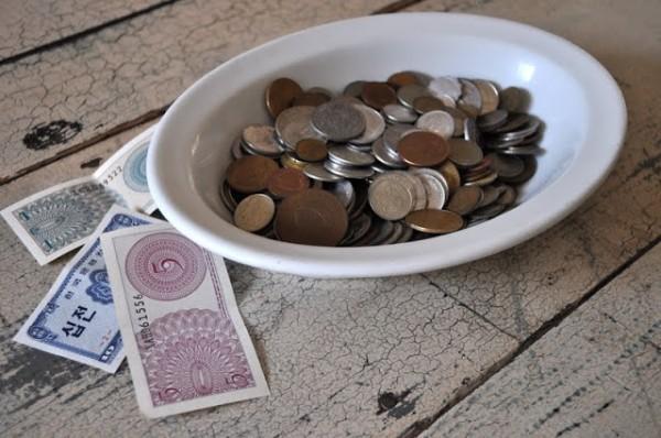 Imanes con monedas 1