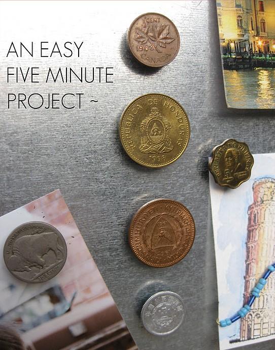 Imanes con monedas 4