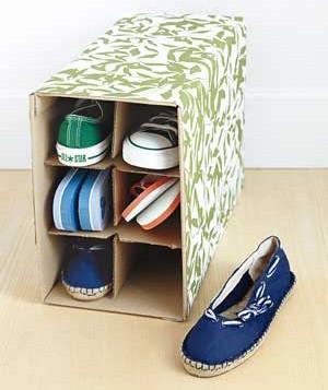 Reciclar objetos de cartón 4
