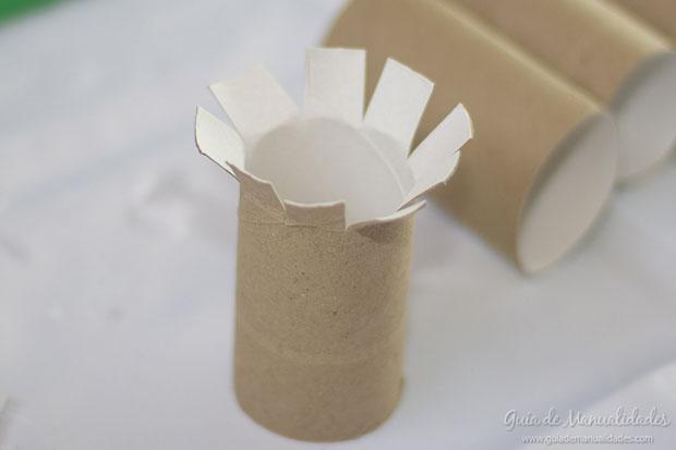 Árboles con tubos de carton 4
