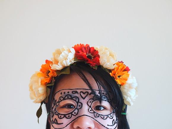 Máscara de tul 1